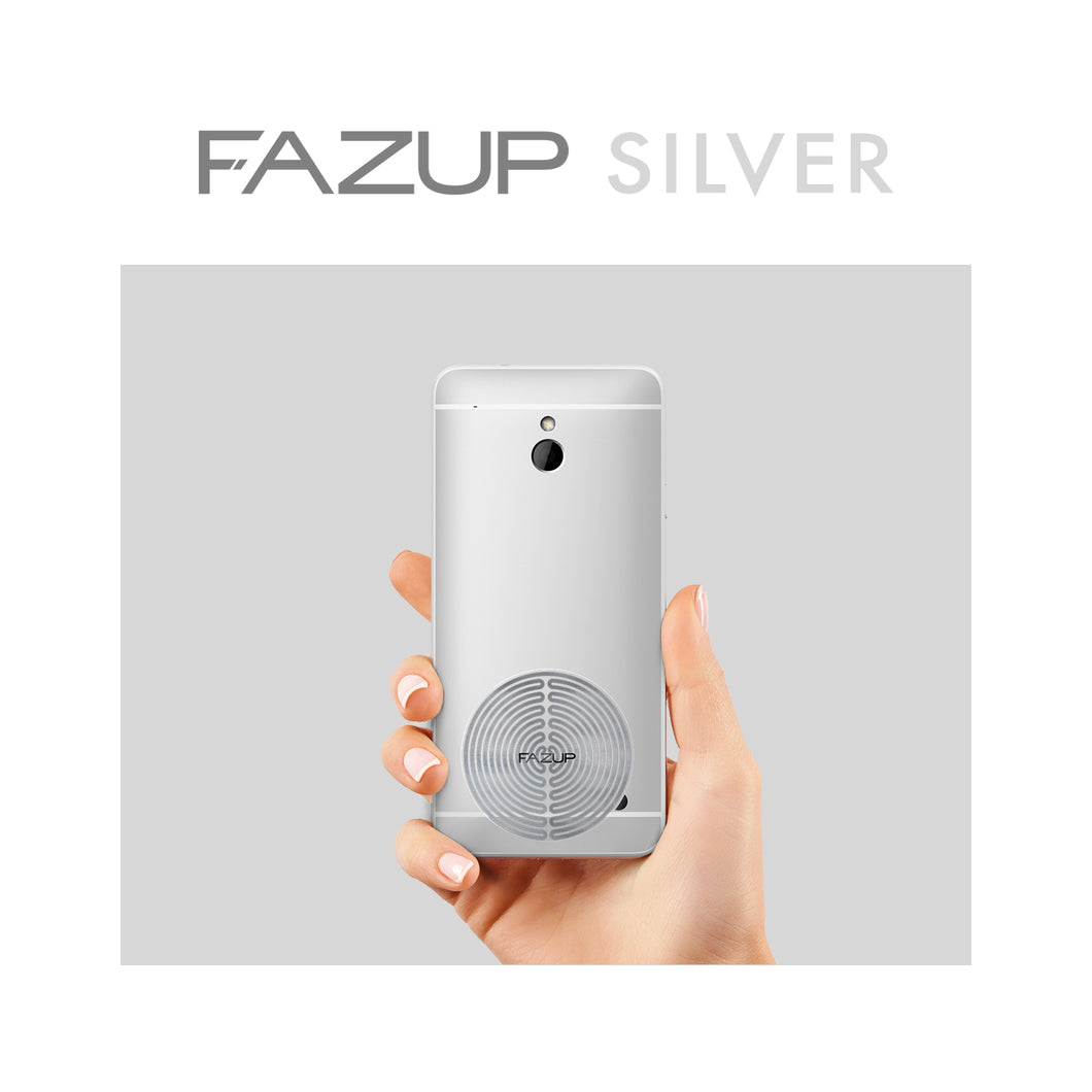 FAZUP Anti-Radiation Sticker Patch SILVER (Single Pack)