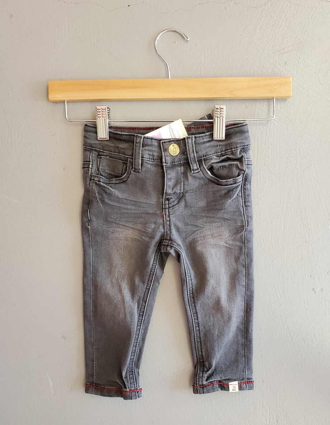 Charcoal Slim Fit jeans