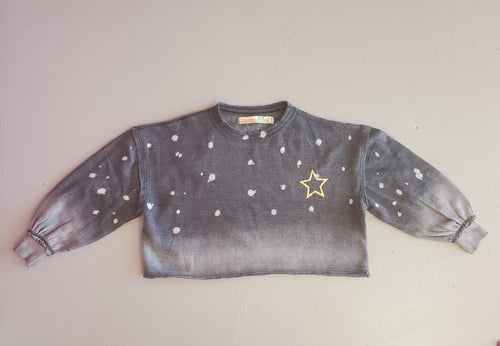 Gold Foil Star top
