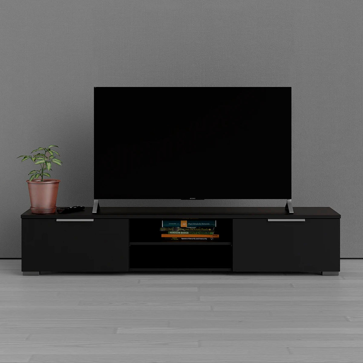 Mesa para tv color negro - Tu Gow