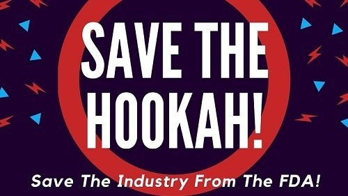 Sign Petition to save the hookah from the FDA!