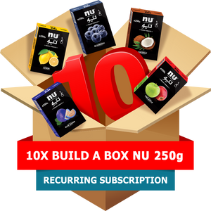 10x Build-A-Box NU 250g Pack Subscription