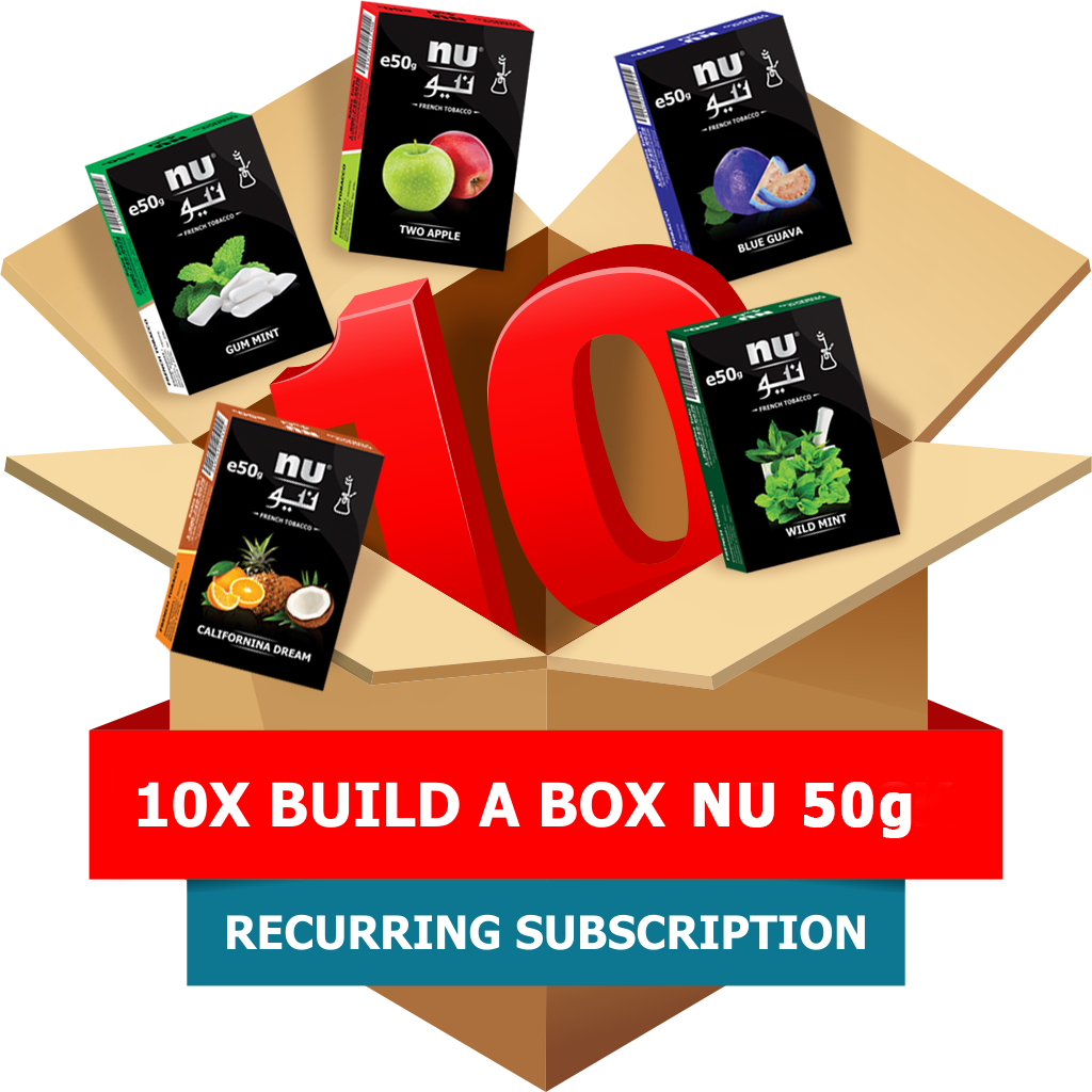 10x Build-A-Box NU 50g Pack Subscription