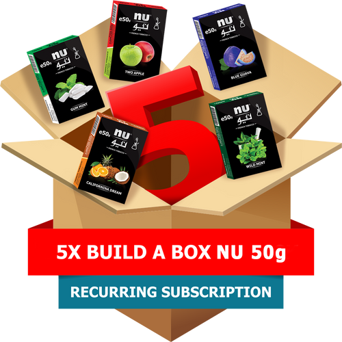 5x Build-A-Box NU 50g Pack Subscription