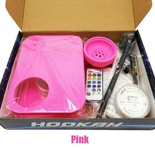 Moden Acrylic Hookah LED Lomint Pink