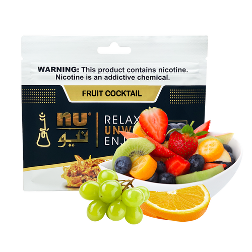 Nu Fruit Cocktail Pouch 100g