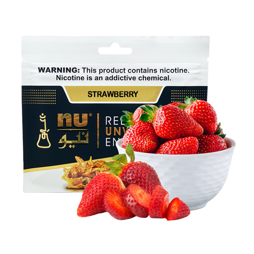 Nu Strawberry Pouch 100g