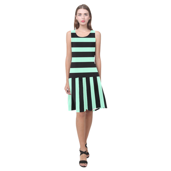 Splice Dress/HSTRPS - MNT
