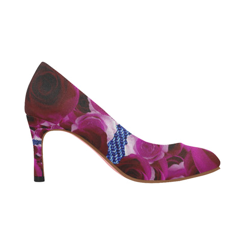 Nadine Pumps/Roses DENIM-MAGEN