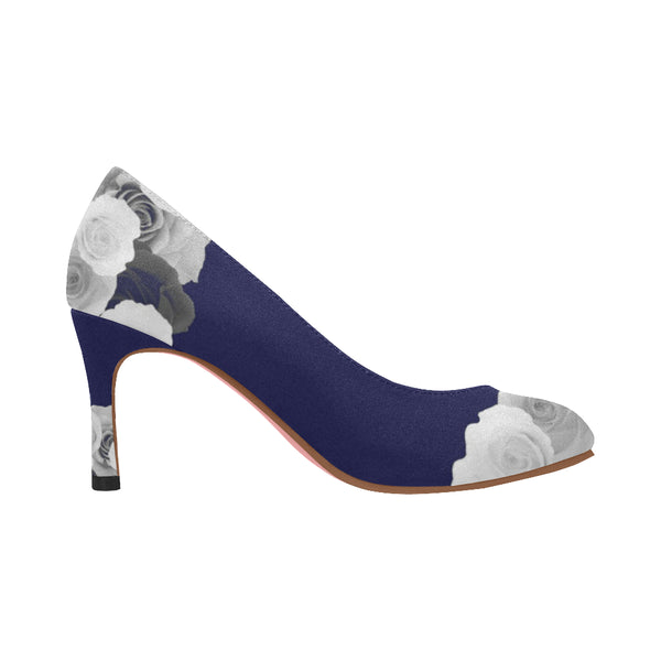 Nadine Pumps/Roses NAVY