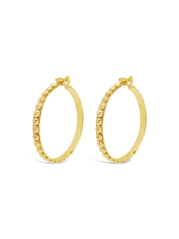 GOLDEN BALL HOOPS