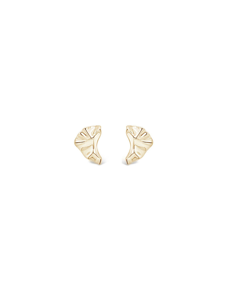ARCTIC CURVE EARRINGS, GOLD