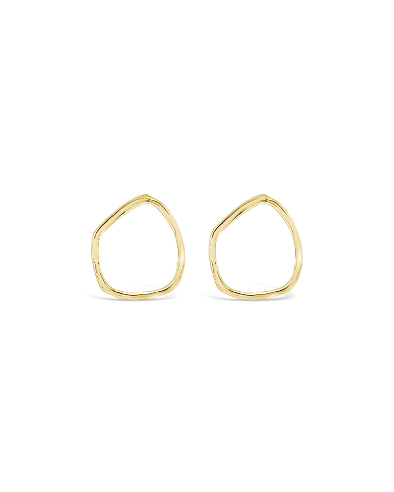 SCATTERED TEAR STUDS, GOLD