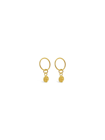 GOLDEN DETAILS STUD EARRINGS