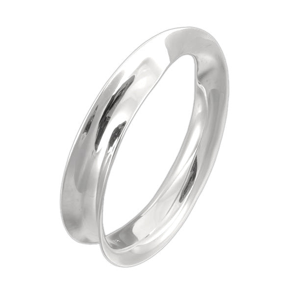 CONCAVE TWIST BANGLE