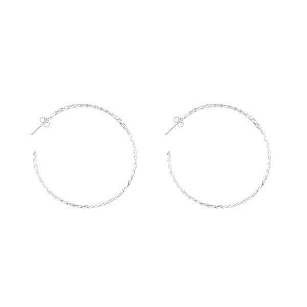 FINE HOOP EARRINGS