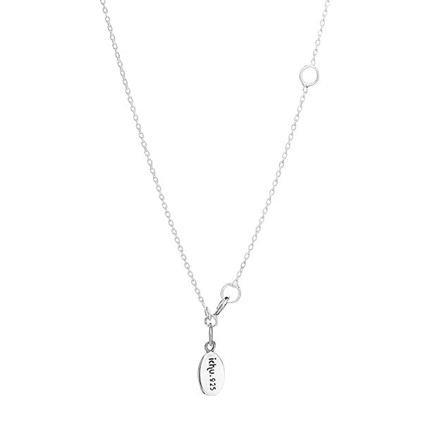 CUBIC ZIRCONIA TOGGLE NECKLACE
