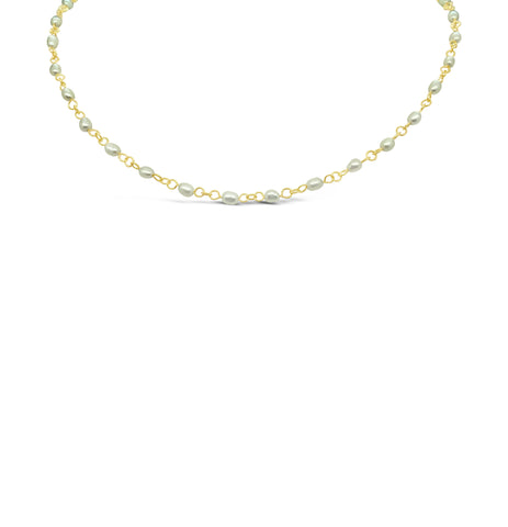MULTI MINI PEARL NECKLACE