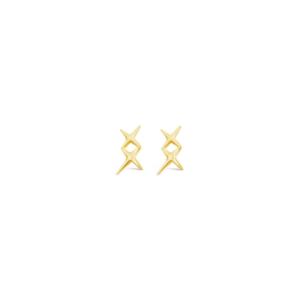 XX EAR CUFF, GOLD