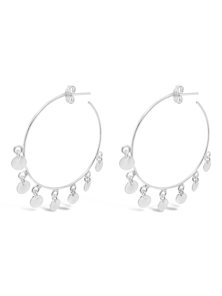 TINY DANCER HOOP EARRINGS