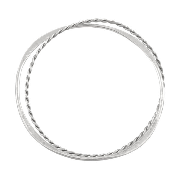 COMBINATION DOUBLE BANGLE