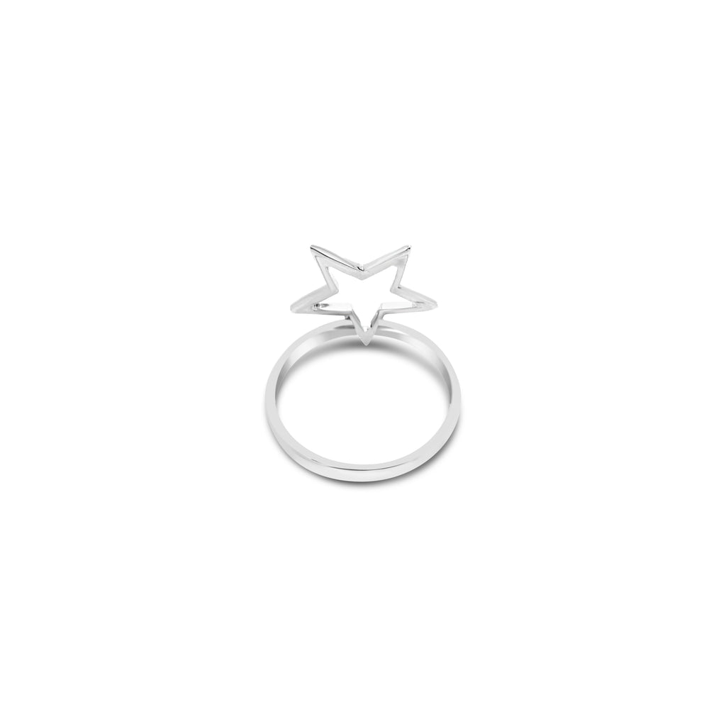 SALE: OPEN STAR RING