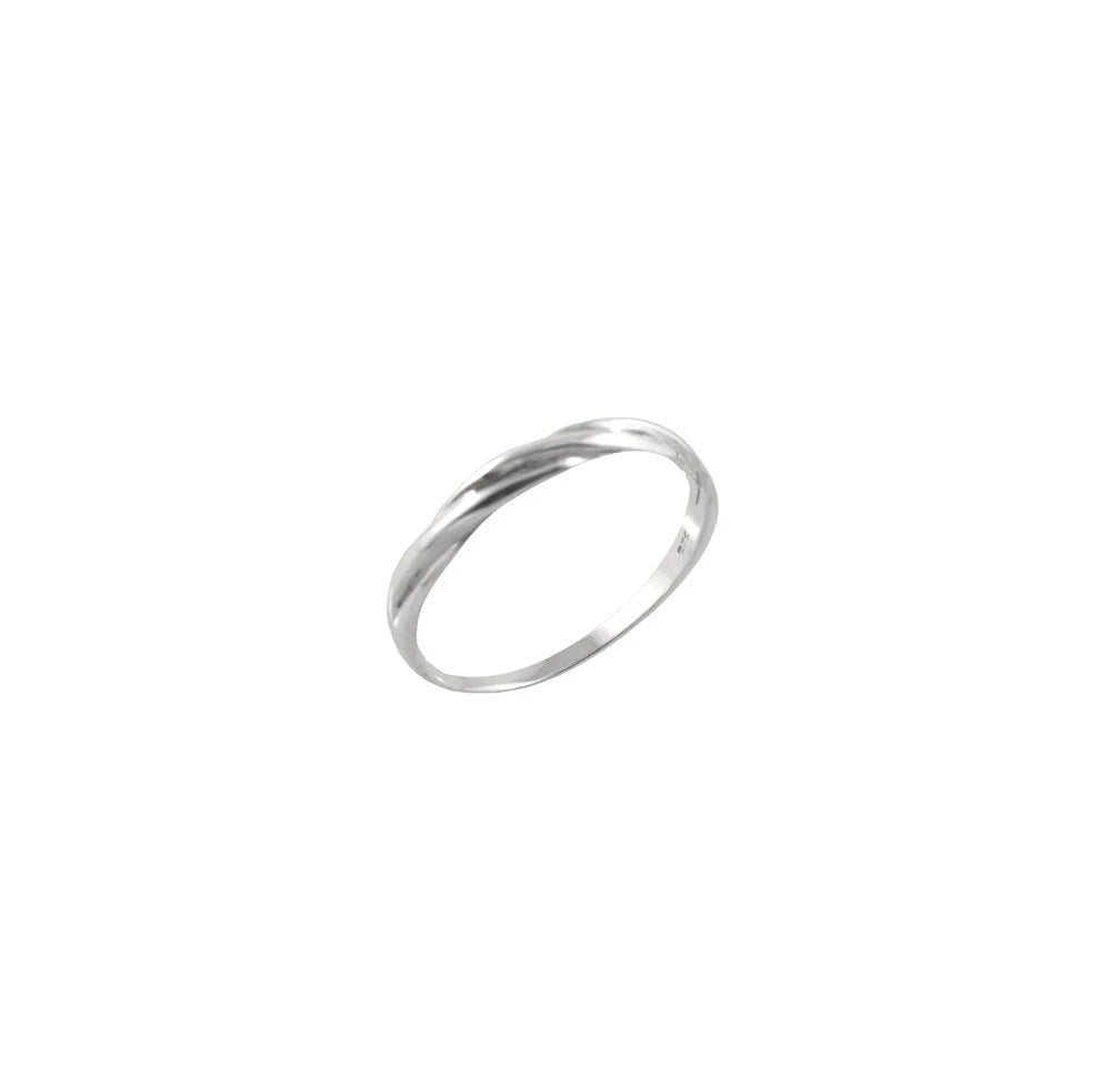DOUBLE BAND TWIST RING
