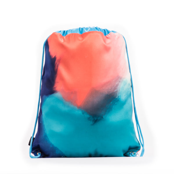 DRAWSTRING LIBRARY SWIM BAGS (WATER RESISTANT)