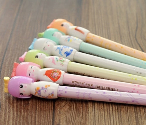 JAPANESE DOLL PEN PACKS