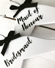 White Personalised Coat Hangers (2 left)