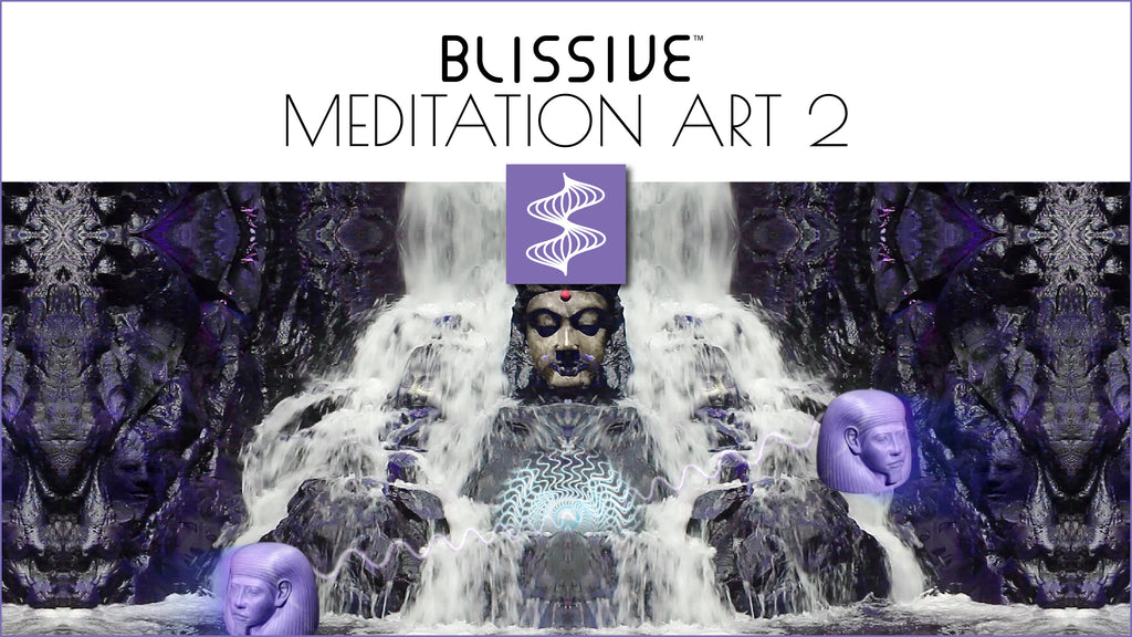 Blissive Meditation Art 2