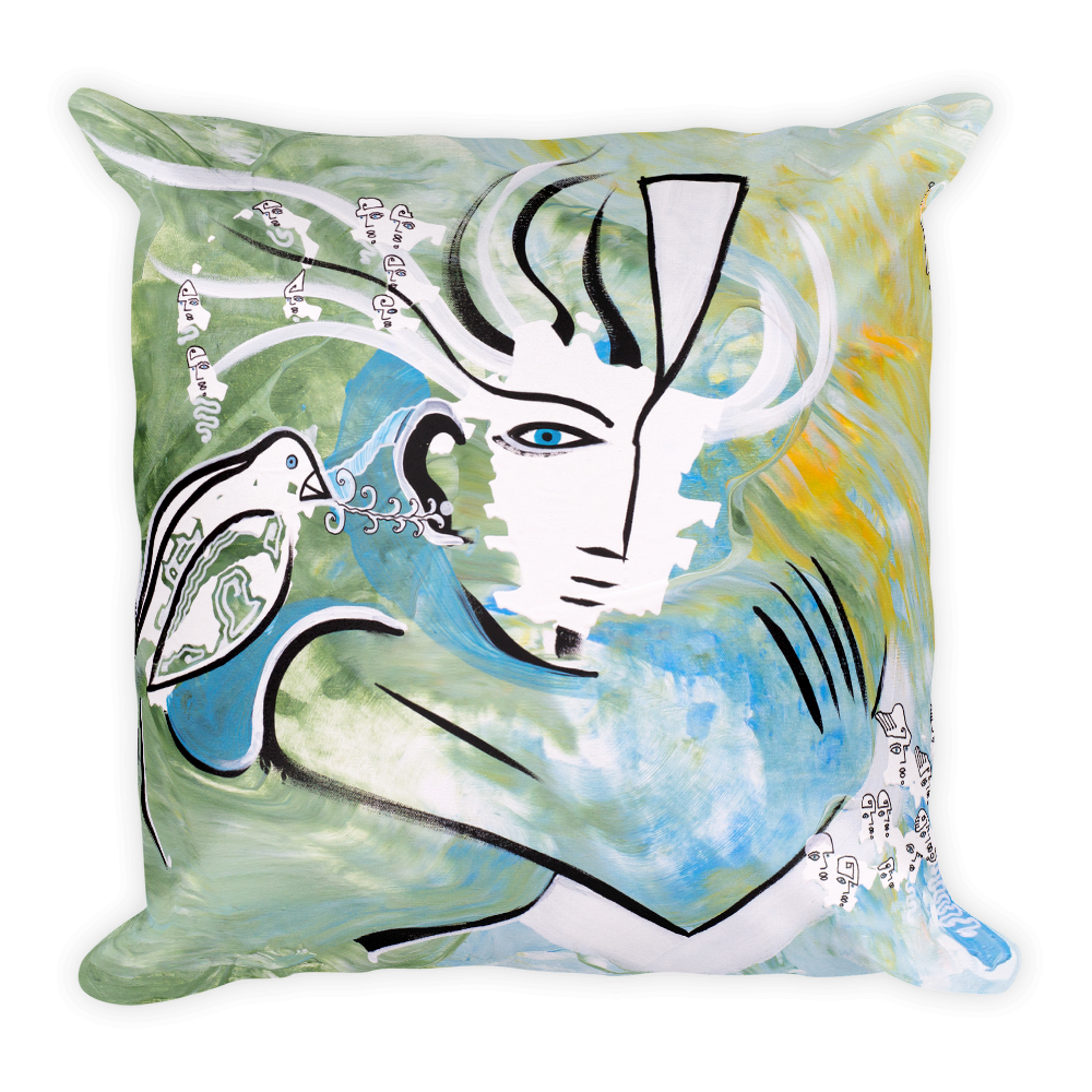 Guidance Square Pillow