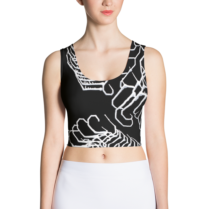 Women's Vibratory Elemental Crop Top