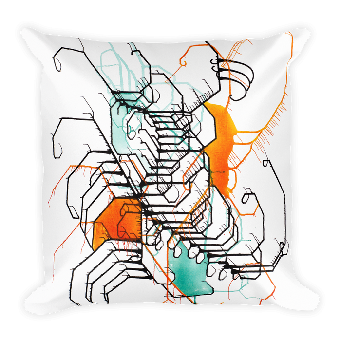 Leap Square Pillow