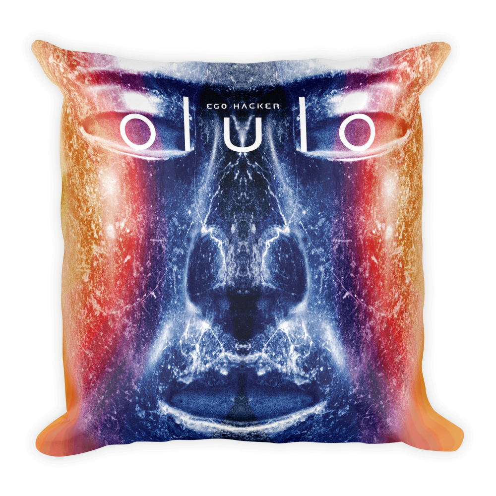 olulo - Ego Hacker Square Pillow