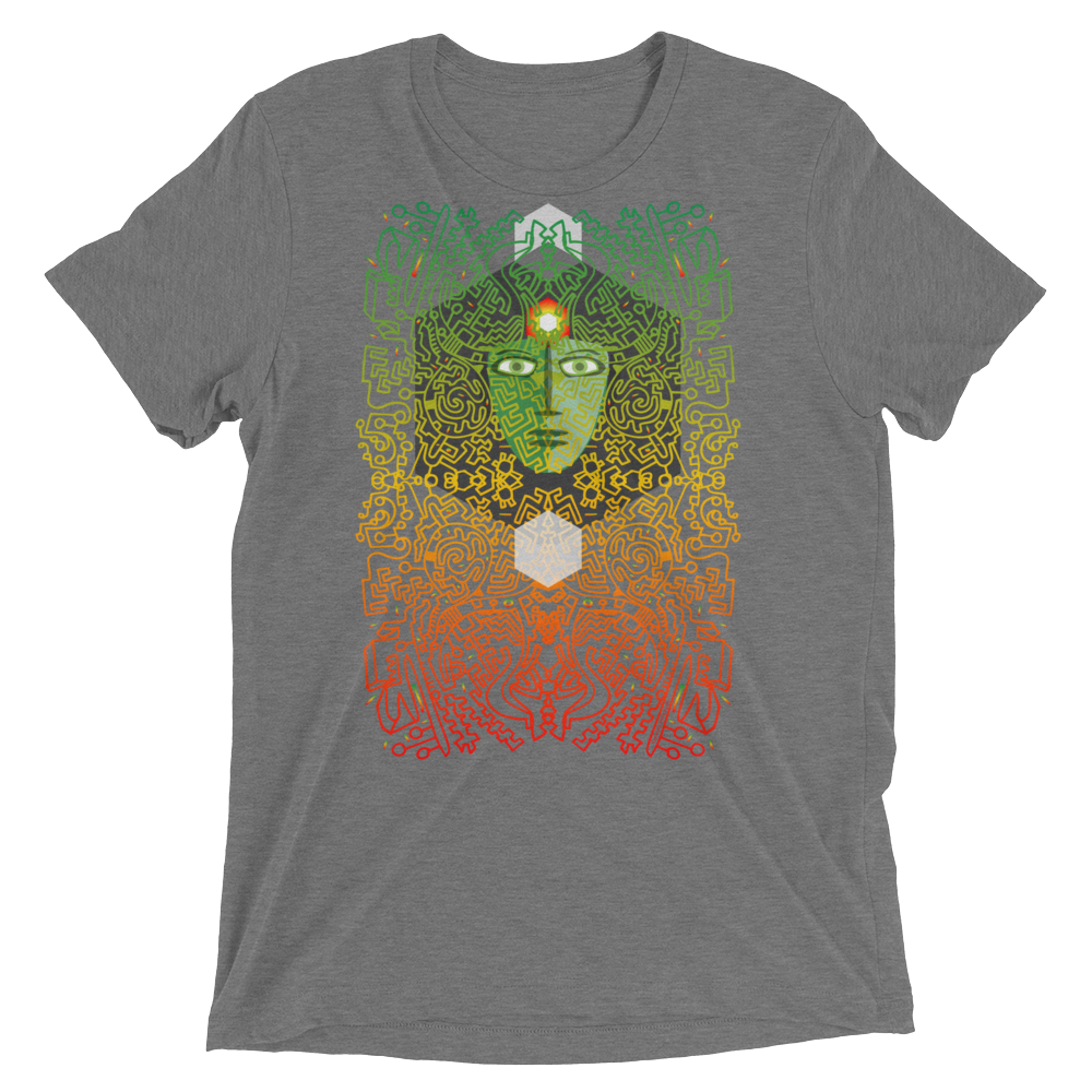 Hexagon Power Tri-blend T-shirt