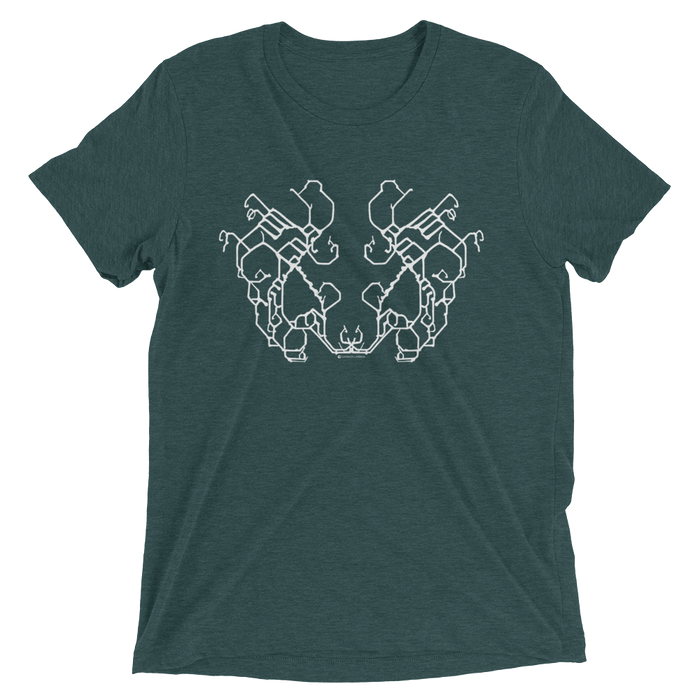 Gravity Mirror Tri-blend T-shirt