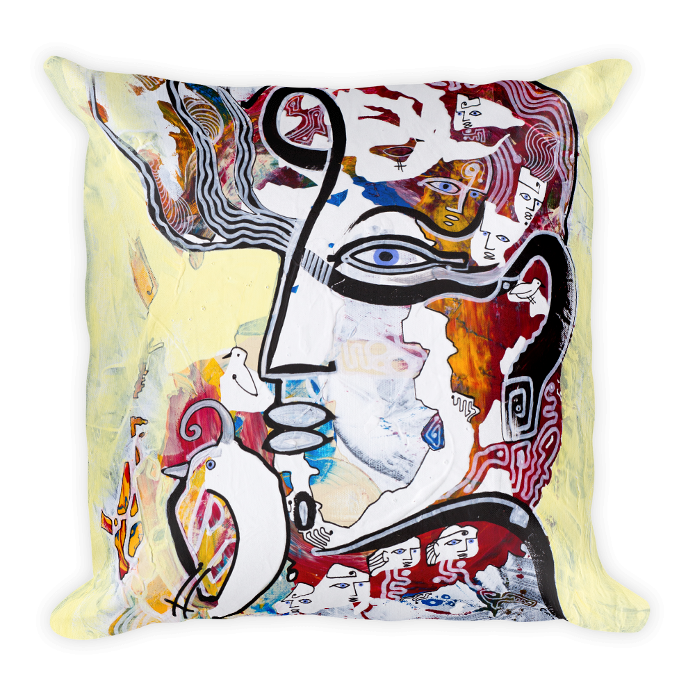 The Dreamer Square Pillow