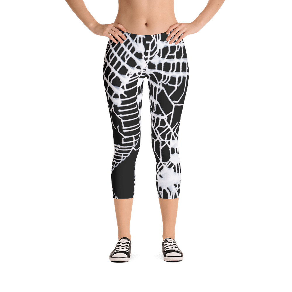 Energetic Elemental Capri Leggings