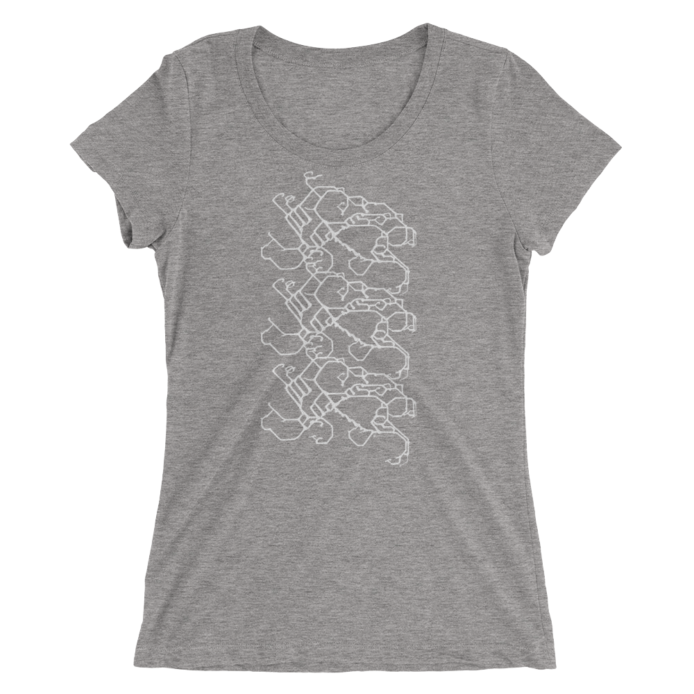 Women's Gravity Repeat Tri-blend T-shirt
