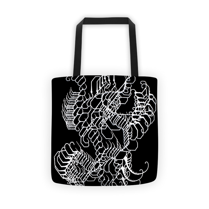 Vibratory Elemental Tote bag