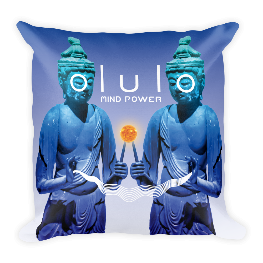 olulo - Mind Power Square Pillow