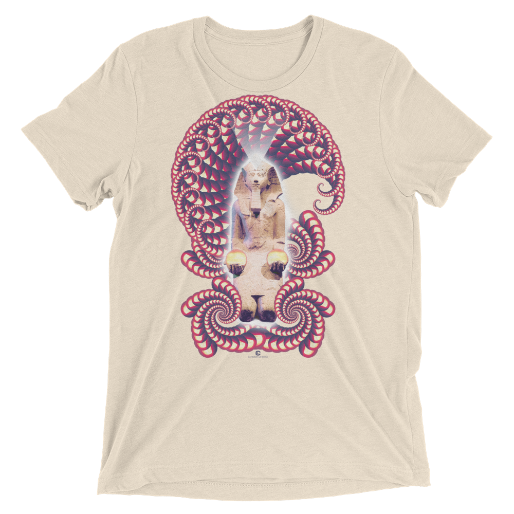 Fractal Labyrinth Tri-blend T-shirt