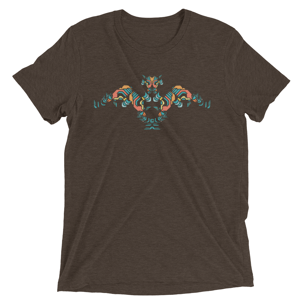 Winged Bull Tri-blend T-shirt