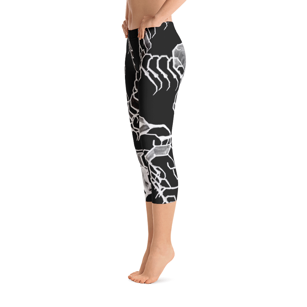 Natural Elemental Capri Leggings