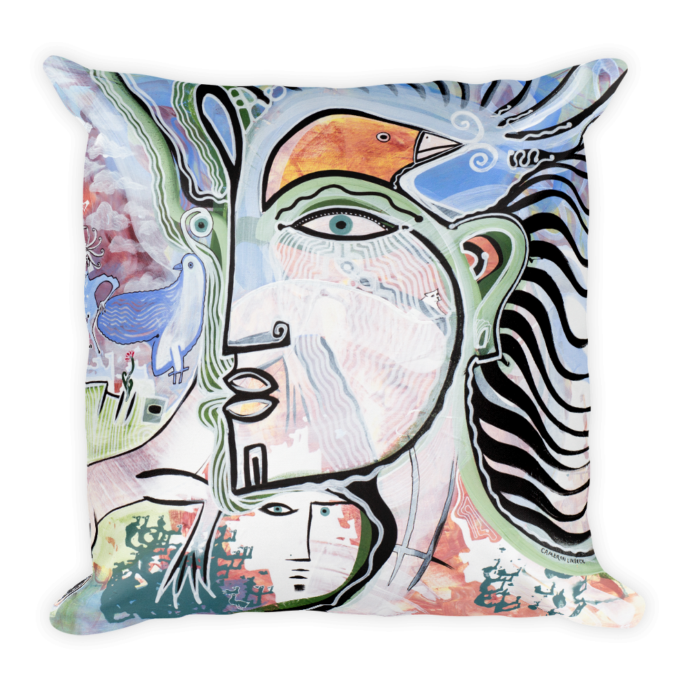 Lucid Dreamer Square Pillow