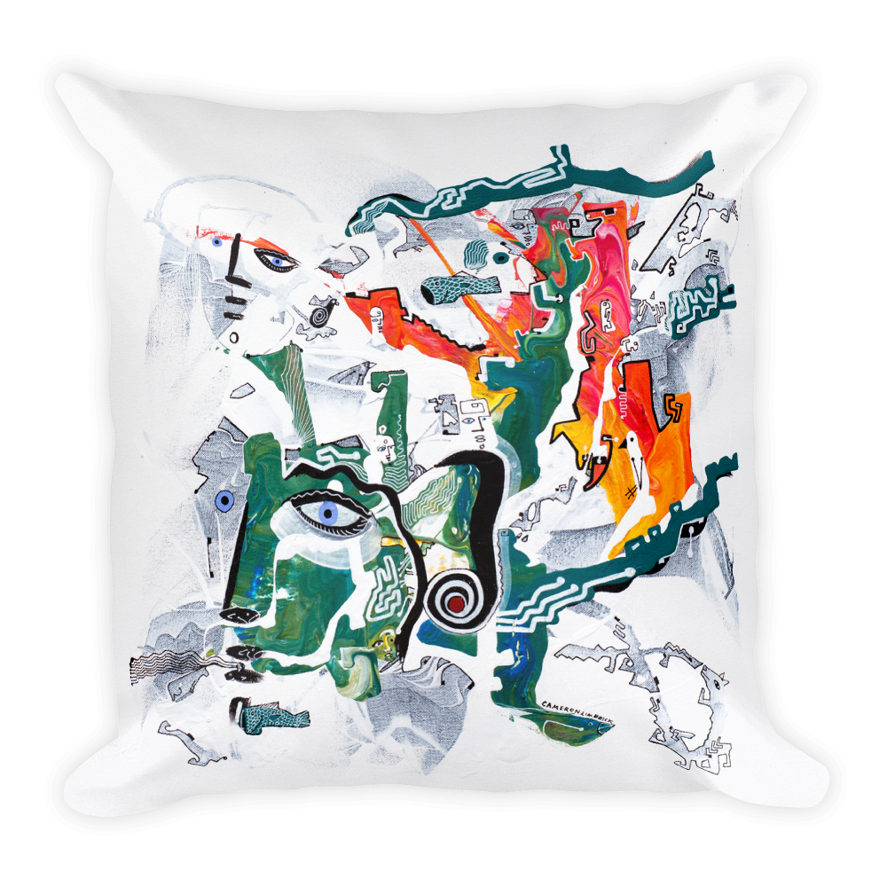 Consciousness Square Pillow