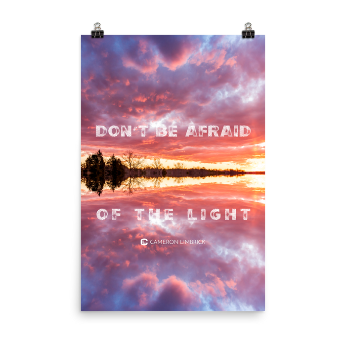 Don't Be Afraid of the Light Poster