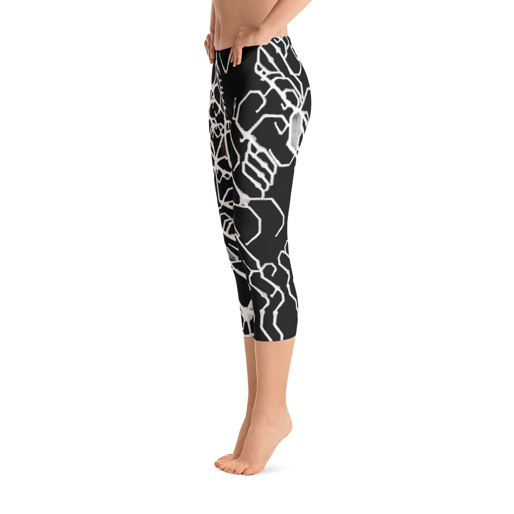 Mental Elemental Capri Leggings