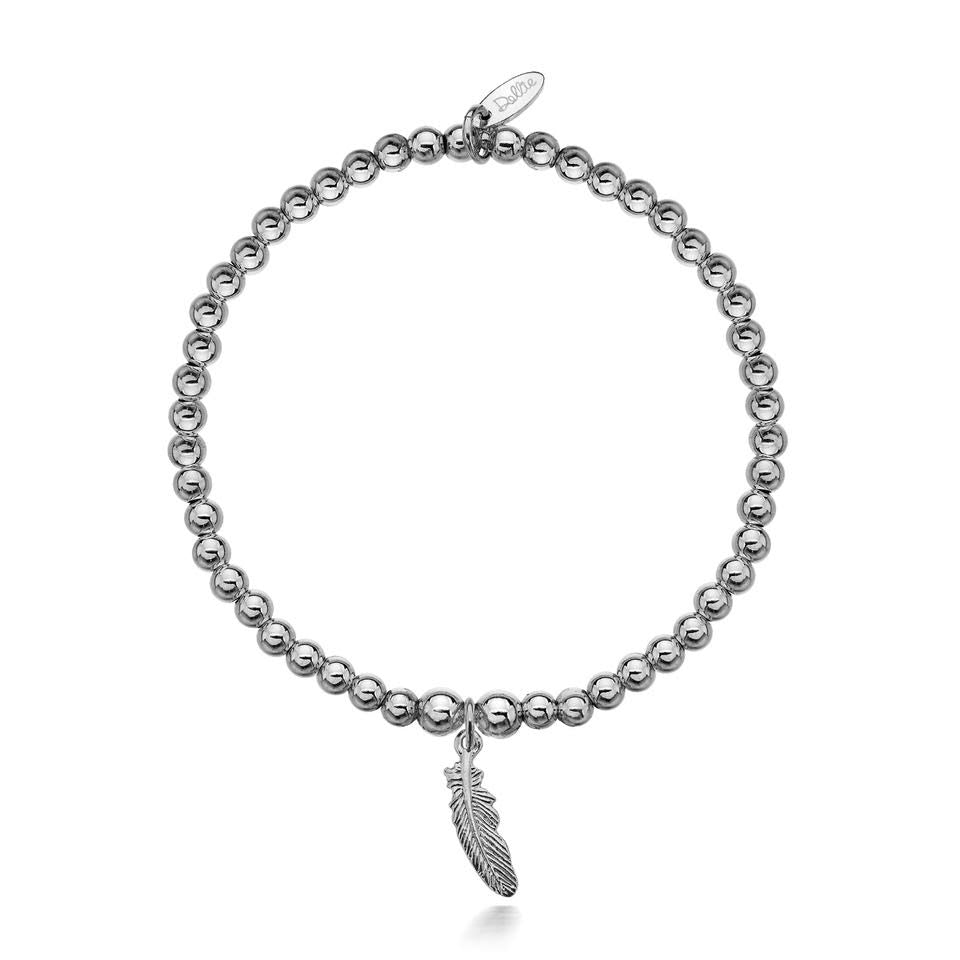 Faith Feather Bracelet